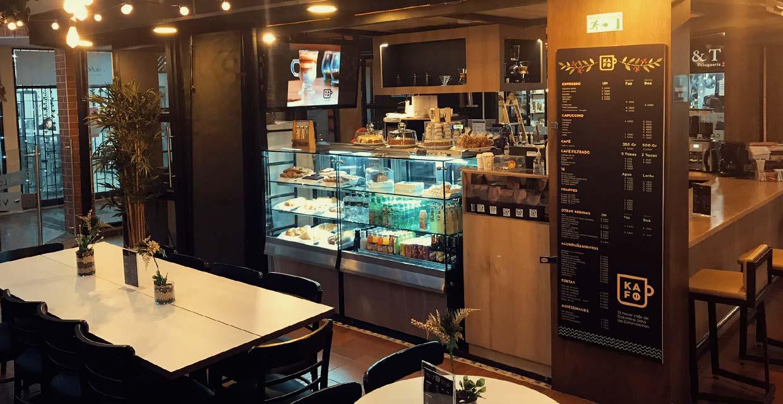 Somos KAFO, tienda, roaster y venta de cafés de origen y cafés especiales.